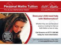 Maths Tutor, tuition provided by experienced teacher and examiner, KS2,KS3,KS4 and A Level