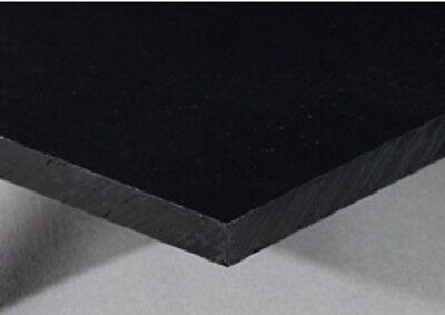 Polyethylene Black Non-textured Hdpe 1 X 6 X 12 Plastic Sheet