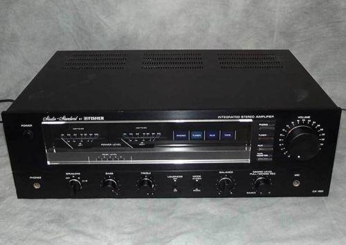 Fisher Amplifier   eBay