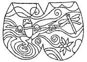 Rug Hooking Pattern Linen