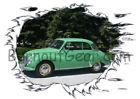 Green Regular Burn Out Gear Shirts for Men