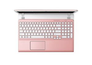 "Sony Vaio Pink and White 14"" Laptop"