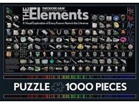 Jigsaw - 1000 pieces - The Elements Periodic Table - Chemistry