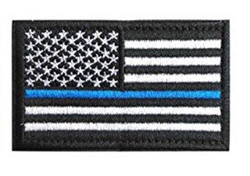 Blue+Black USA Flag