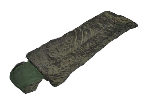 Olive Green ARMY STYLE PILOT SLEEPING BAG with PILLOW - Mili