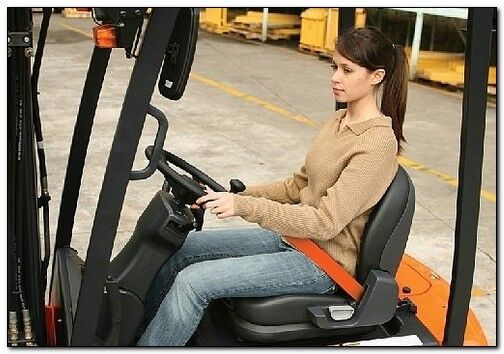 Forklift Safety Training Certification OSHA Compliance (with DVD)