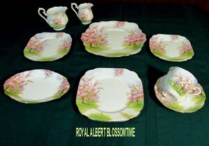 ROYAL ALBERT CHINA - BLOSSOMTIME