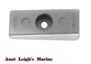 Aluminum Side Pocket Wedge Anode Mercury Mariner Outboard 18-6068 826134 826134Q