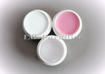 Praktisches Set: 3x 5 ml UV-Gele für die Nagelmodellage-