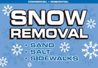 Now taking Snow Removal Contracts Or Just Call when you need us
