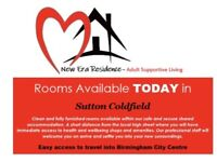 Supported Accommodation in Sutton Coldfield