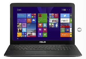 Asus notebook X554L
