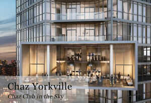 Executive Condo At Chaz In Yorkville, Yonge And Bloor