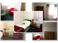 Funtastic Adjacent rooms, bedroom/study in house with C/H, M/W, W/M, 200Mb broadband, incl. bills