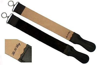 Professional Barber Leather Strop Straight Razor Sharpening Shave Shaving Strap