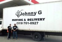JOHNNY G MOVING STUDENT MONTH