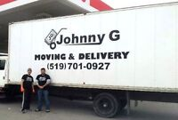 JOHNNY G MOVING FROM $89 FOR 3 HOURS 519 701 0927