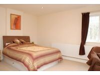 1 Large Double Room/studio (with en-suite) available in house share, with own kitchenette