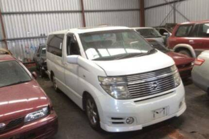 WRECKING NISSAN  E51 ELGRAND HIGHWAY STAR ALL PARTS STOCK NO 8624 Wingfield Port Adelaide Area Preview