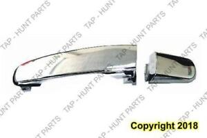 Door Handle Outer Front Passenger Side Chrome ( Without Key Hole) (Also Fit Rear Driver Side /Rr Passenger Side ) PONTIA