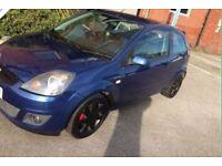 Fiesta 1.2 16v ( Zetec blue addition model ) Bargain