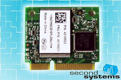 NEU - Lenovo 2GB Half Mini PCI-e Turbo Memory Card Thinkpad - 43Y6523 Turbo Memory