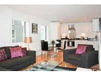 DESIGNER FURNISHED TWO BEDROOM WITH BALCONY AND WOOD FLOORS IN INDESCON SQUARE, CANARY WHARF, LONDON