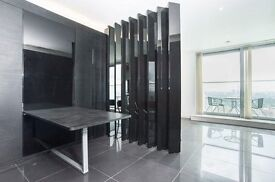 VACANT NOW!! 1 BEDROOM APARTMENT IN CANARY WHARF BALTIMORE WHARF WITH GYM ON 32ND FLOOR