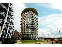 11th Floor Two bed, two bath with balcony & Gym (800sqft) Orion Point, Odyssey, Crews Street, E14