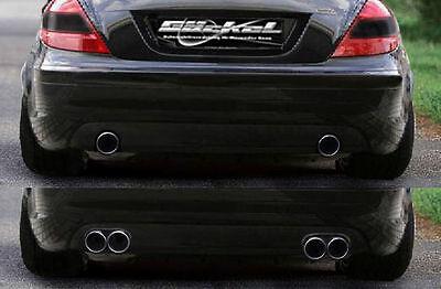 Mercedes Benz SLK R171 Mittelschalldämpfer u. Endschalldämpfer Auspuff AMG 55