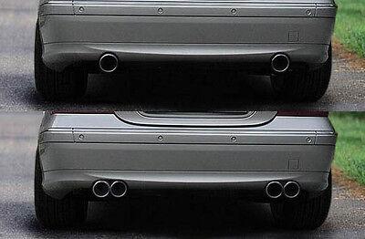Mercedes Benz C-Klasse W203 Premium Klappenauspuff  Edelstahl Duplex Auspuff