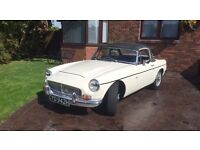 CLASSIC CAR FOR SALE MGC ROADSTER