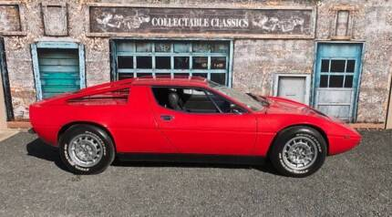 COLLECTABLE CLASSIC CARS  - 1977 Maserati Merak SS Strathalbyn Alexandrina Area Preview