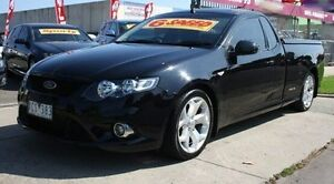 2009 Ford Falcon FG XR6 Ute Super Cab Turbo Black 6 Speed Sports Automatic Utility Altona North Hobsons Bay Area Preview