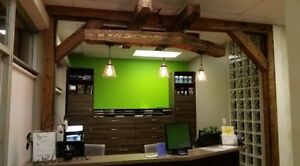 Real Barn Wood TIMBER FRAMING Accent