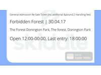One forbidden Forest ticket for sell
