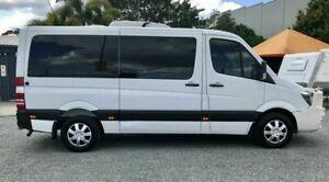 2014 Mercedes-Benz Sprinter 906 MY14 319CDI MWB White 7 Speed Automatic Van Springwood Logan Area Preview
