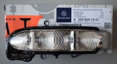 Genuine Mercedes-Benz - E Class 211 LH Mirror Indicator Lamp A2038201321 NEW