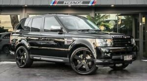 2012 Land Rover Range Rover MY12 Sport 3.0 SDV6 Luxury Black 6 Speed Automatic Wagon Bowen Hills Brisbane North East Preview