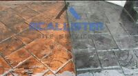 Custom concrete available for great rate!!