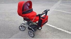 Bebecar stylo pram immaculate condition with all accessories