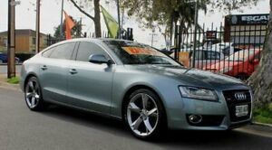 2010 Audi A5 8T MY11 Sportback 3.0 TDI Quattro Grey 7 Speed Auto Direct Shift Hatchback Klemzig Port Adelaide Area Preview