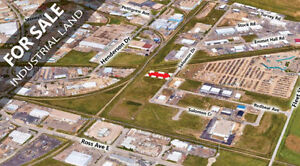 1.26 acres of industrial land for sale or lease