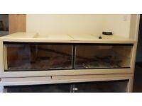 6ft Herptek HTB180 plastic vivarium