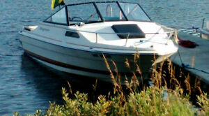 Bayliner Cuddy Cabin for sale with trailer