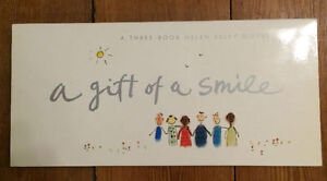 GIFT OF A SMILE - 3 book gift boxed set - NEW - $5 London Ontario image 1