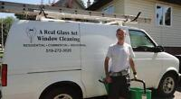 Part time position cleaning windows and eavestroughs