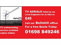 01698 849246 Aerial maintenance and Installation services and TV wall mounting specialists
