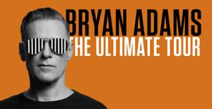 Bryan Adams - Halifax FRONT ROW FLOOR