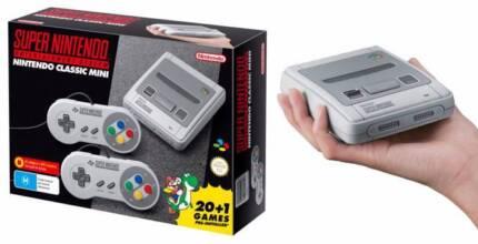 SNES Classic Mini Super Nintendo Brand New Unboxed